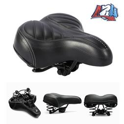 Bike Seat For Women Wide Gel Bicycle Cushion Comfort Cycling