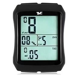 007KK Bike Speedometer Waterproof Wireless Bicycle Bike Comp