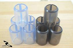 Bike Top Tube Protector Set Black *5 and White *5 pcs Bicycl