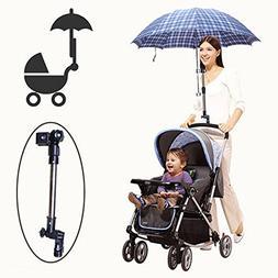 LVOERTUIG Bike Umbrella Mount Umbrellas Holder for Stroller