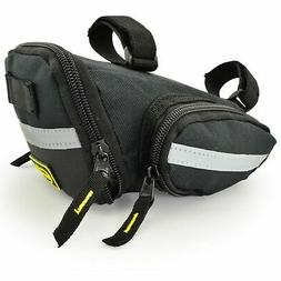 Lumintrail Strap-On Bike Saddle Bag Bicycle Seat Pack Multi-