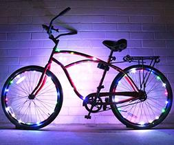Bike Wheel / Lights - Colorful Light Accessory For Bike - Pe