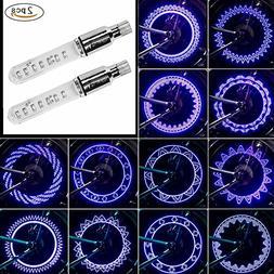 POLIYU Bike Wheel Lights Waterproof Bicycle Wheel Lights Out