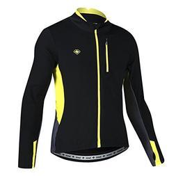 Santic Bike Winter Jacket Windproof Fleece Thermal Warm UP C