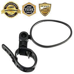 MeanHoo 1 Pair Black Bicycle Rearview Mirror Cycle Accessori