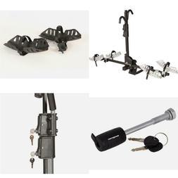 Black Chinook 2 Bikes Frame Key Lock Hook Premium Metal Cons