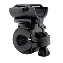 MeanHoo Black Portable Mountain Bicycle Light Clip Holder Bi