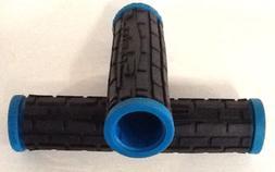 SCHWINN BLACK/TURQUOISE BLUE BICYCLE HANDLEBAR GRIPS BIKE PA