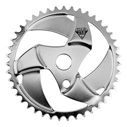 Black Ops Blade BMX Chain Ring, 43t, Chrome Plated