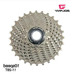 Bolany 10 Speed 11-28T Cassette Road Bicycle Freewheel Steel