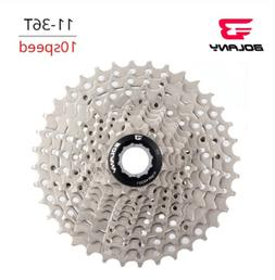 bolany 10 speed 11 36t cassettes silver