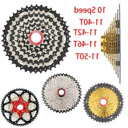 BOLANY Mountain Bicycle Freewheels 10 Speed 11-50T 46T 42T 4