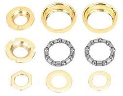 Bottom Bracket Set 1/Piece Crank 5/16x9 24t Gold