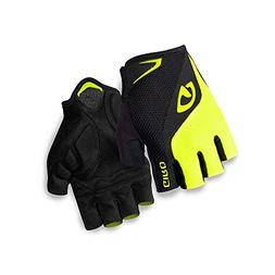 Giro Bravo Gel Cycling Gloves Black/Highlight Yellow 2X-Larg