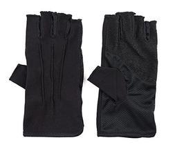 Breathable Cool Fingerless Gloves UV Lightweight Fingerless