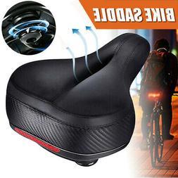 Breathable Cruiser Road Bike Bicycle Soft Wide Big Bum Saddl