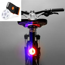 elegantstunning Bright Bike Light USB Rechargeable Bicycle T