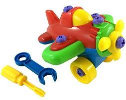 EDS Build a Plane Kids Toy Puzzle