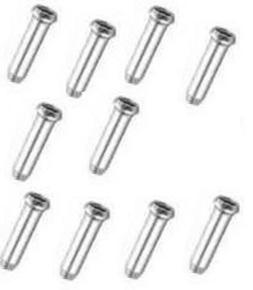 Sunlite Cable Tips, Alloy, Silver, Bottle of 500