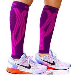 BLITZU Calf Compression Sleeve Socks One Pair Leg Performanc