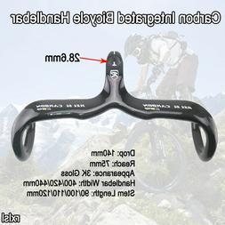 RXL SL Carbon Fiber Bicycle Integrated Handlebar Road Bike H