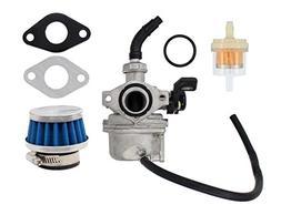Carburetor Air Fuel Filter PZ19 Carb For 50cc 70cc 90cc 110c