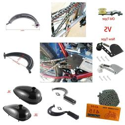 Chain Tensioner/Muffler Exhaust For 49cc 66cc 80cc Engine Mo
