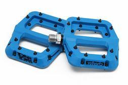 """Race Face Chester Composite Platform Pedals: 9/16"""" Blue Pair"""