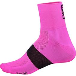 Giro Classic Racer Socks Flo Pink/Black, XL - Men's