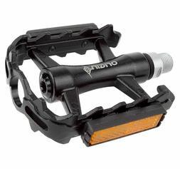 """Origin8 Classique Pro Pedals, 9/16"""", Black"""