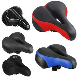 Comfort Wide Big Bum Bike Bicycle Gel Cushion Extra Sporty S