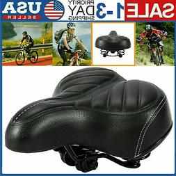 Comfort Wide Big Bum Bike Bicycle Gel Cruiser Extra Sporty S