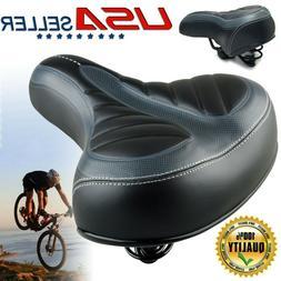 Comfort Wide Big Bum Soft Bike Saddle Bicycle Seat Spring Ai