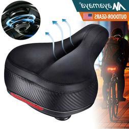 Comfort Wide Bike Seat Cushion Soft Padded Mountain Cruiser