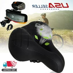 Comfort Wide Breathable Bike Seat & Directional Signle  Ligh