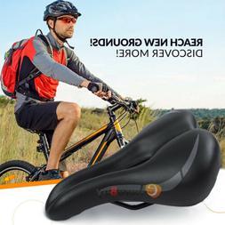 Comfort Wide Cruiser Bike Saddle Seat Soft Cushion Pad Breat