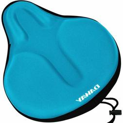 Comfortable Exercise Bike Seat Cover - C6 Large Wide Foam &