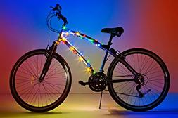 Brightz, Ltd. Cosmic Brightz LED Bicycle Frame Light, Multic