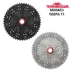 SunRace  CSMX8 11-50T 11 Speed MTB Bike Cassette Black Silve