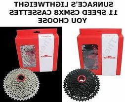 SunRace CSMX8 11 Speed 11-40 11-4211-46 11-50 Wide Bike Cass