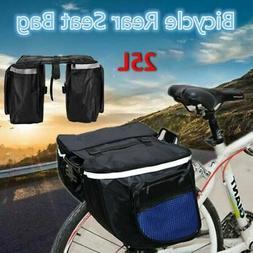 Waterproof Double Panniers Bag Bike Bicycle Cycling Rear Sea