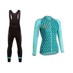 Uglyfrog Clothing Womens Cycling Jerseys, Long Sleeve Cycle