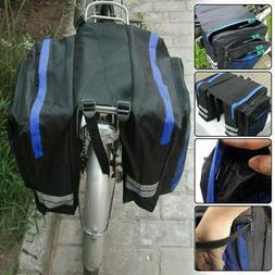 Cycling Rear Rack Seat Trunk Saddle Bike Tail Storage Pannie