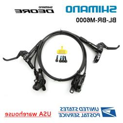 SHIMANO DEORE BR-BL-M6000 Bike MTB Hydraulic Disc Brake Set