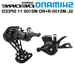 Shimano Deore M5100 Groupset 11 Speed Shift Lever with Displ