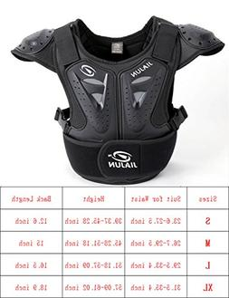 BARHAR Kids Dirt Bike Body Chest Spine Protector Armor Vest