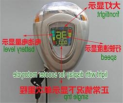 LED display &LAMP 48v with lock/key electric bike scooter MT