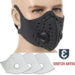 MoHo Dust Mask, Upgrade Version Activated Carbon Dustproof M