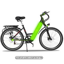 Utheing Outdoor E-Bike Folding Electric Bike Bicycle with Co