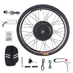 Electronic Bike Conversion Kit w/Motor Front Wheel Hub Speed